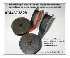 Role ptr. masini de scris negre si bicolore cu livrare rapida la sediul dvs. | anunturi gratuite