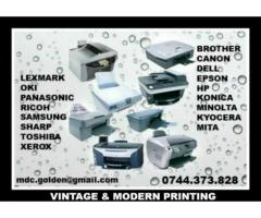 Consumabile si service pentru imprimante si multifunctionale | anunturi gratuite