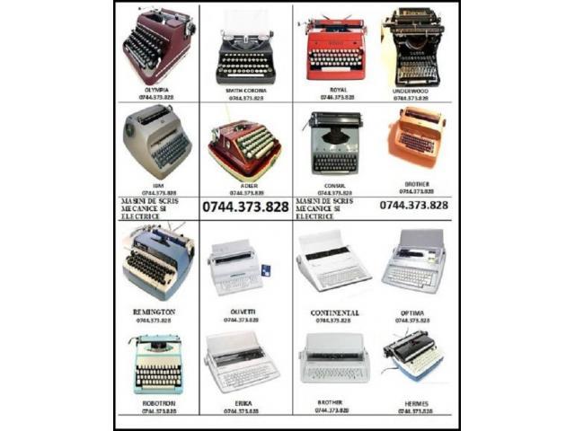 Reparatii si consumabile   masini de scris