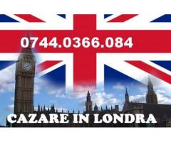 Cazare in Londra-loc in camere duble sau triple £70/80.sapt