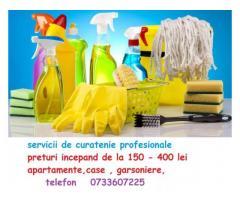 servicii profesionale de curatenie generala  www.curataretapiterieauto0733607225.ro