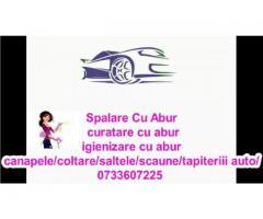Spalare Injectie Extractie Tapiterie Auto Cu Aburi