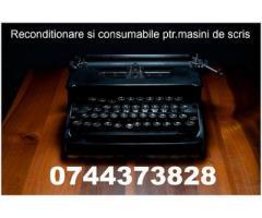 Reparatie si riboane masini  de scris