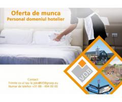 Personal domeniul hotelier in Amsterdam - anunturi gratuite