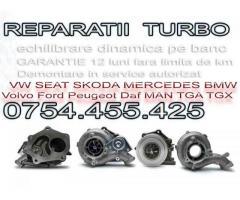 Reparatie turbo pentru Tractoare Utilaje Agricole Case John Deere Deutz Holset