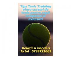 Lectii tenis copii - Bucuresti, sector 3