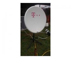 montez si reglez antene satelit