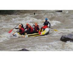 Rafting pe Buzau