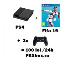Inchiriere console jocuri video PlayStation 4 PS4 si Xbox Bucuresti PSXbox - anunturi gratuite