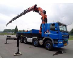 Inchiriez Camion cu Macara PK 72000, brat 28 m, capacitate 22 tone. - anunturi gratuite