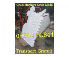 Monumente Funerare Cruci Marmura Transport Gratuit