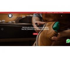 Site complet pentru afaceri mici si mijlocii
