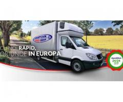 Mutari mobila international Transport marfa