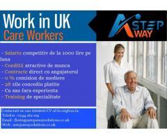 Infirmiera / Infirmier in Marea Britanie