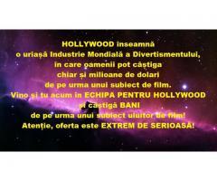 Avem un scop: Hollywood!