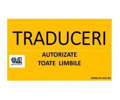 TRADUCERI AUTORIZATE / TRADUCERI ACTE AUTO